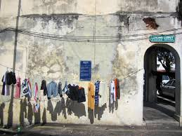 where to the street art in georgetown penang map clothes drying in the sun where to street art in georgetown penang