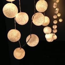 Cotton <b>Ball String Lights</b> | Wayfair