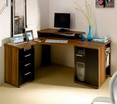 full size of desk alluring modern corner office desk solid wod construction mahogany finish black awesome glass corner office desk glass
