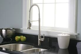 restaurant kitchen faucet small house:  beautiful restaurant style kitchen faucet in interior design for house with restaurant style kitchen faucet