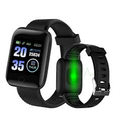 D13 Smart Watch <b>116 Plus</b> Heart Rate Smart <b>Wristband</b> Sports ...