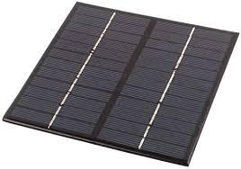 uxcell® <b>DC 12V 250mA</b> 3W Square Energy Saving Solar Cell Panel ...