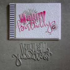 GJCrafts Home Word Dies Letter Metal Cutting Dies New 2019 for ...
