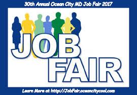 32nd annual oc job fair ocean city md ocean city cool add l info seeking employment your perfect beach job at the 32nd annual oc job fair 2017