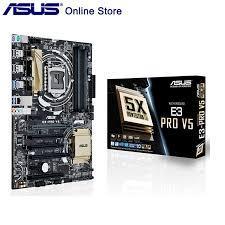 <b>Original New Asus</b> E3 PRO V5 Desktop Motherboard C232 LGA ...