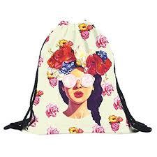 Fashion <b>3D Printing</b> Travel <b>Backpack</b> Softback Harajuku dra ...