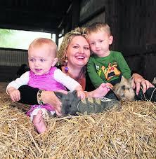 Stehen auf süße Kaninchen: Hobbyzüchterin Sandra Offermann ... - 16039_web