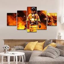 <b>Firefighter Canvas</b> Wall Art <b>Prints</b> | Wall Decor by ElephantStock