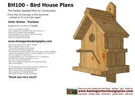 Bird House Plans Designs PDF Woodworkingbird house plans designs