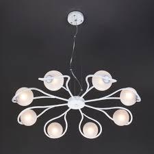 Подвесной светильник <b>70089/8 белый</b> с серебром