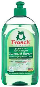 <b>Frosch Средство для мытья</b> посуды Зелёный лимон — купить по ...