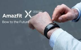 Дизайнерские <b>умные часы Amazfit</b> X: цена и сроки релиза