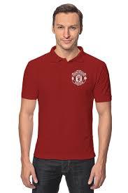 """Рубашка Поло """"<b>Манчестер Юнайтед</b>"""" #2567321 от geekbox - <b>Printio</b>"""