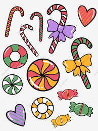 <b>Christmas Decoration</b> Candy <b>Cartoon Cute</b> Elements, Christmas ...
