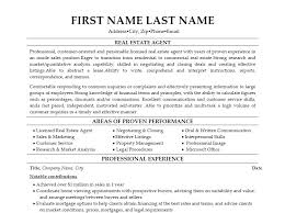 the real estate agent resume examples amp tips  writing resume   example middot entry level real estate agent resume