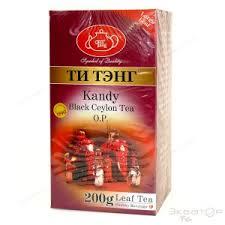 """<b>Чай черный Tea Tang</b> """"Канди"""" OP (крупнолистовой, 200 г, картон)"""