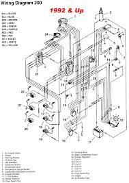 mercury outboard 2 5 and 3 0l v6 and gearcase faq electrical system wiring diagram for 92up fishing motor