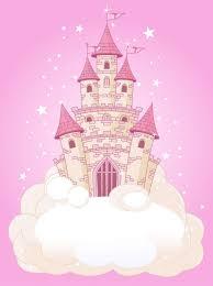 42-86 | Розовое небо, Сказочные иллюстрации, Замок принцессы