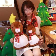 # Santa Claus <b>Elk Christmas</b> Plush Toy Plush Soft Pillow Kids ...