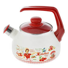 "<b>Чайник эмалированный со свистком</b> ""Ретро"" | | St-Petersburg"