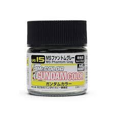 GUNZE UG15 Gundam Color (10ml) <b>Phantom</b> Grey - Passion <b>132</b>