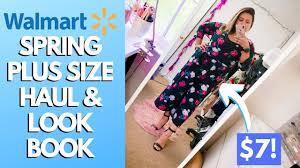 <b>2019 Spring</b> Walmart Haul and <b>Plus Size</b> Lookbook - 8 Looks ...