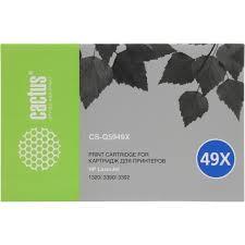 <b>Картридж Cactus CS</b>-<b>Q5949X</b> Черный (<b>Black</b>) — купить, цена и ...