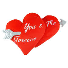 <b>Декоративная подушка You And</b> Me Forever с нанесением оптом ...