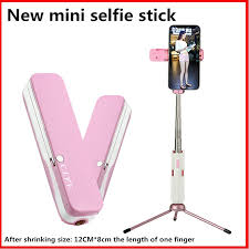 <b>new</b>!Mini mobile phone <b>universal selfie stick</b> can be horizontal and ...