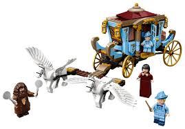 Конструктор <b>LEGO Harry Potter</b> 75958 <b>Карета</b> школы Шармбатон ...
