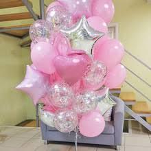 Романтические <b>Розовые</b> латексные <b>шары</b> 12 дюймов ...