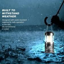 LE 600lm <b>Rechargeable</b> LED <b>Camping</b> Lantern Detachable ...