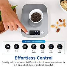 Etekcity Kitchen Food Scale Digital Weight Grams and ... - Amazon.com
