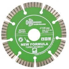 Алмазный <b>диск Trio Diamond</b> New Formula Segment <b>Turbo</b> 125 мм ...