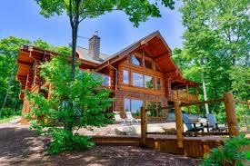 log private lake house