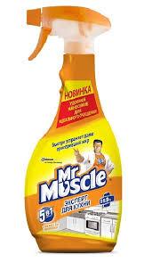 <b>Мистер Мускул</b> / <b>Mr</b>. <b>Muscle</b> - <b>Средство чистящее</b> для кухни ...
