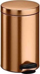 """<b>Ведро для мусора</b> """"Meliconi"""", цвет: медь, <b>14</b> л. 6903 — купить в ..."""