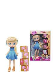 <b>Кукла</b> 1TOY <b>Boxy Girls</b> Willa 20 см с аксесс.: цвет Цвет, 1999 ...