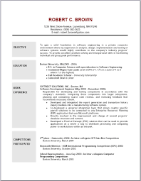 example of objective in resume template example of objective in resume
