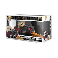 <b>Funko POP Rides</b>: <b>Game</b> Of Thrones - Daenerys on Fiery Drogon ...