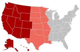 Oeste de Estados Unidos