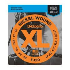 <b>D'Addario</b> EJ20 Набор 6 <b>струн</b> для электрогитары: цена, купить в ...