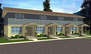 Four Plex   Covered Entries   MG   nd Floor Master Suite    Plan MG