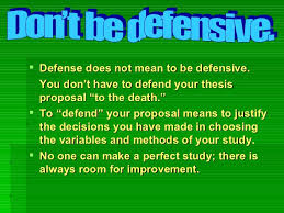 How to Defend your Thesis Proposal like a Professional SlideShare