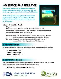 heart of america golf course rates unlimited golf balls 15 for 30 minutes