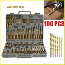 50/100 Pcs/Set Twist Drill Bit Set Saw Set HSS High Steel ... - Vova
