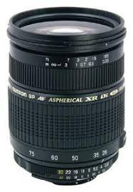Характеристики товара <b>объектив TAMRON 28-75mm f/2.8</b> SP AF ...
