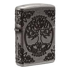 <b>Зажигалка ZIPPO</b> Armor® с покрытием <b>Antique Silver</b> ...
