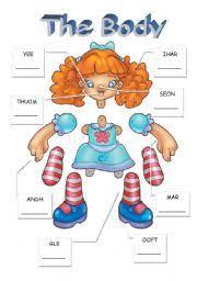 Resultado de imagen de body parts for kindergarten