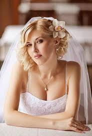 short wedding hairstyles for curly hair